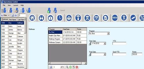 Sierra Workforce Solutions Human Resources Module wellness page image